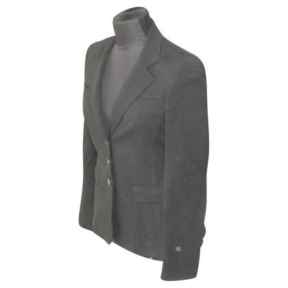 Strenesse Blue Blazer in jersey nero