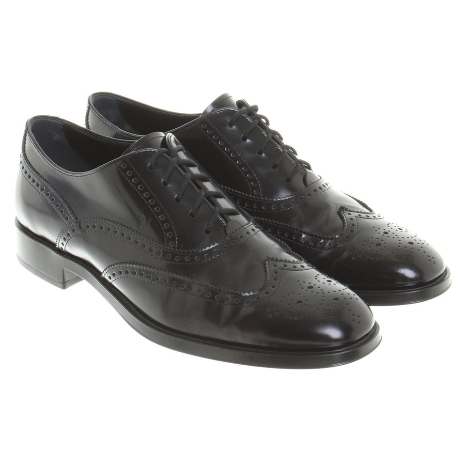 Tod's Lace-up shoes in black