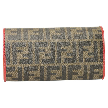 Fendi Wallet with logo pattern