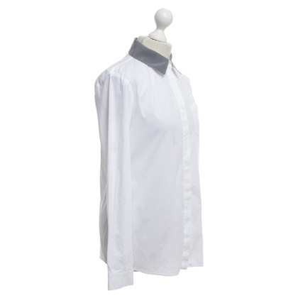 Jil Sander Blouse in White / grey