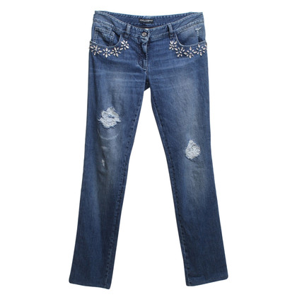 Dolce & Gabbana Jeans with crystal stones