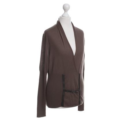 Hermès Maglione di lana maglia fine