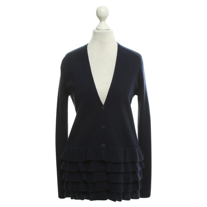 Allude Cardigan in blu scuro