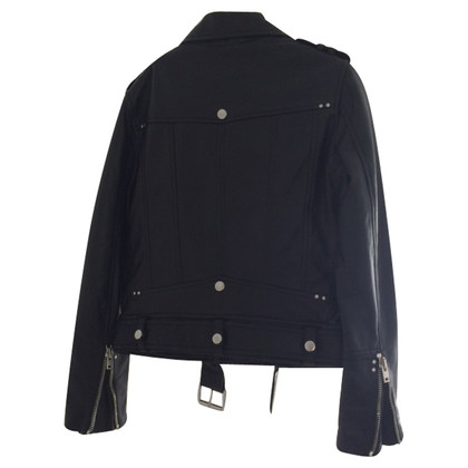 The Kooples Lederjacke im Biker-Stil