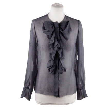 Chanel Blouse met ruches
