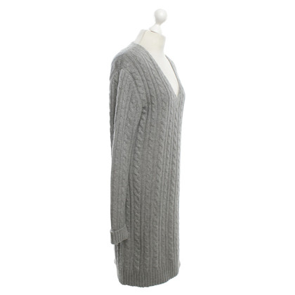 Allude Cashmere dress in grey