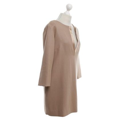 By Malene Birger Dress in golden brown
