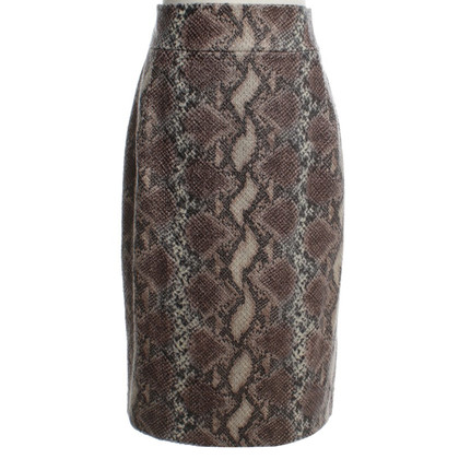 Other Designer Ana Alcazar - skirt in reptile look