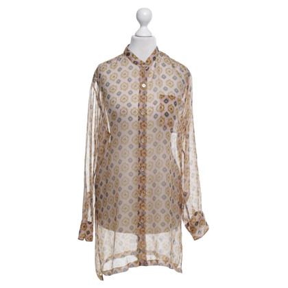 Dries van Noten Silk blouse with pattern