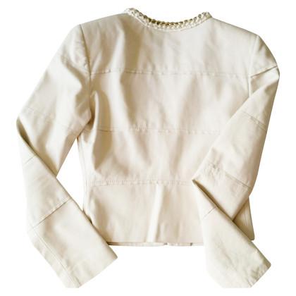 Elisabetta Franchi Jacket in cream