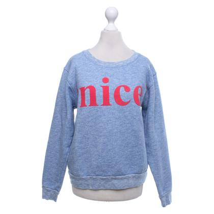 Closed Sweater in blauw