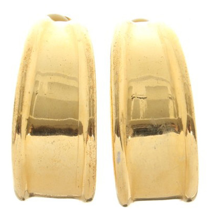 Escada Gold-colored ear clips