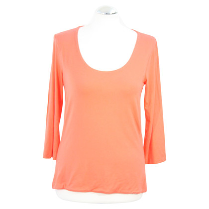 Hobbs Top in Coral Red