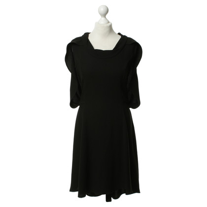 Gaspard Yurkievich Black dress with Cape