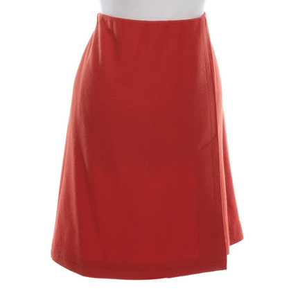 Marc Cain Wool skirt in red