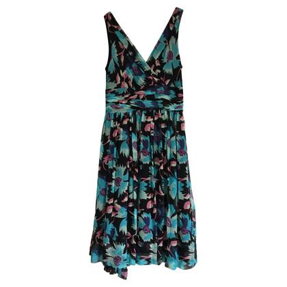 Temperley London Silk Floral Dress
