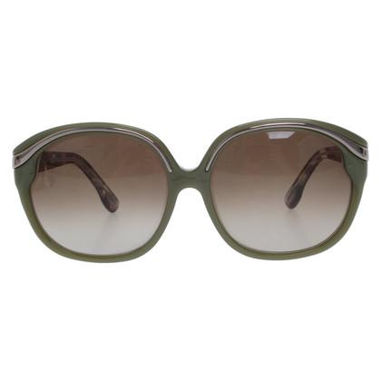 Emilio Pucci Sonnenbrille in Grün