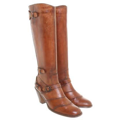 """Belstaff Boots """"Trialmaster"""" in Cognac"""