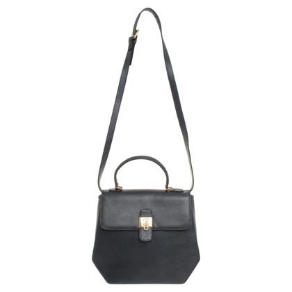 Lancel Leather handbag in blue