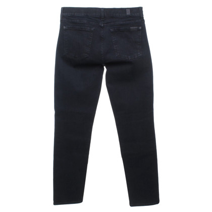 7 For All Mankind Jeans in Schwarz
