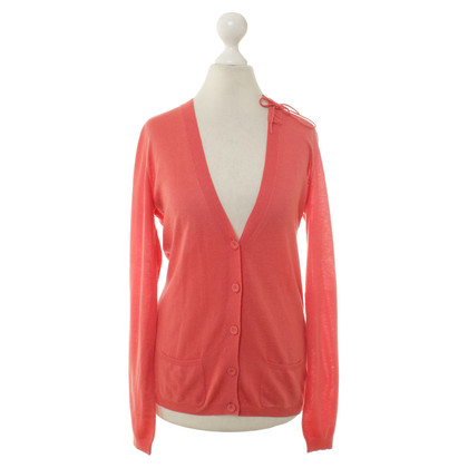 Red Valentino Knitted Cardigan with pockets