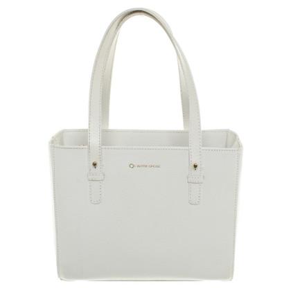 L'autre Chose Handtasche in Weiß