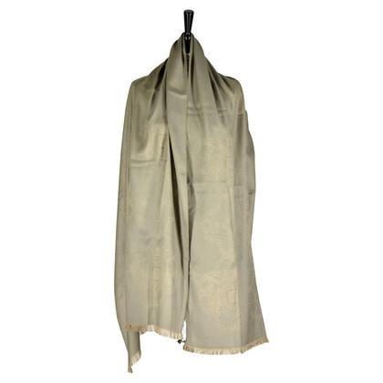 Givenchy Zijden sjaal in grijs
