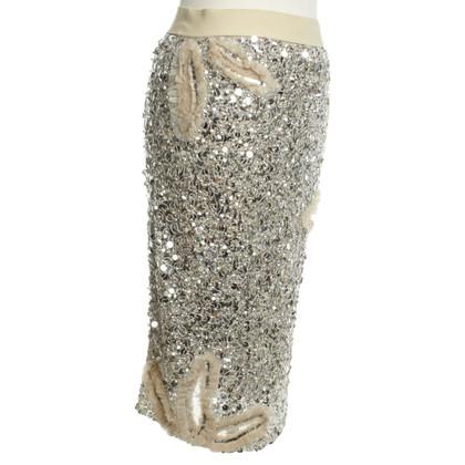 Blumarine Cocktail jurk met pailletten
