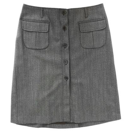 Andere merken Peserico - lange rok met knoppen