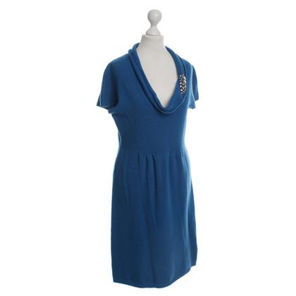 Blumarine Abito in maglia in blu