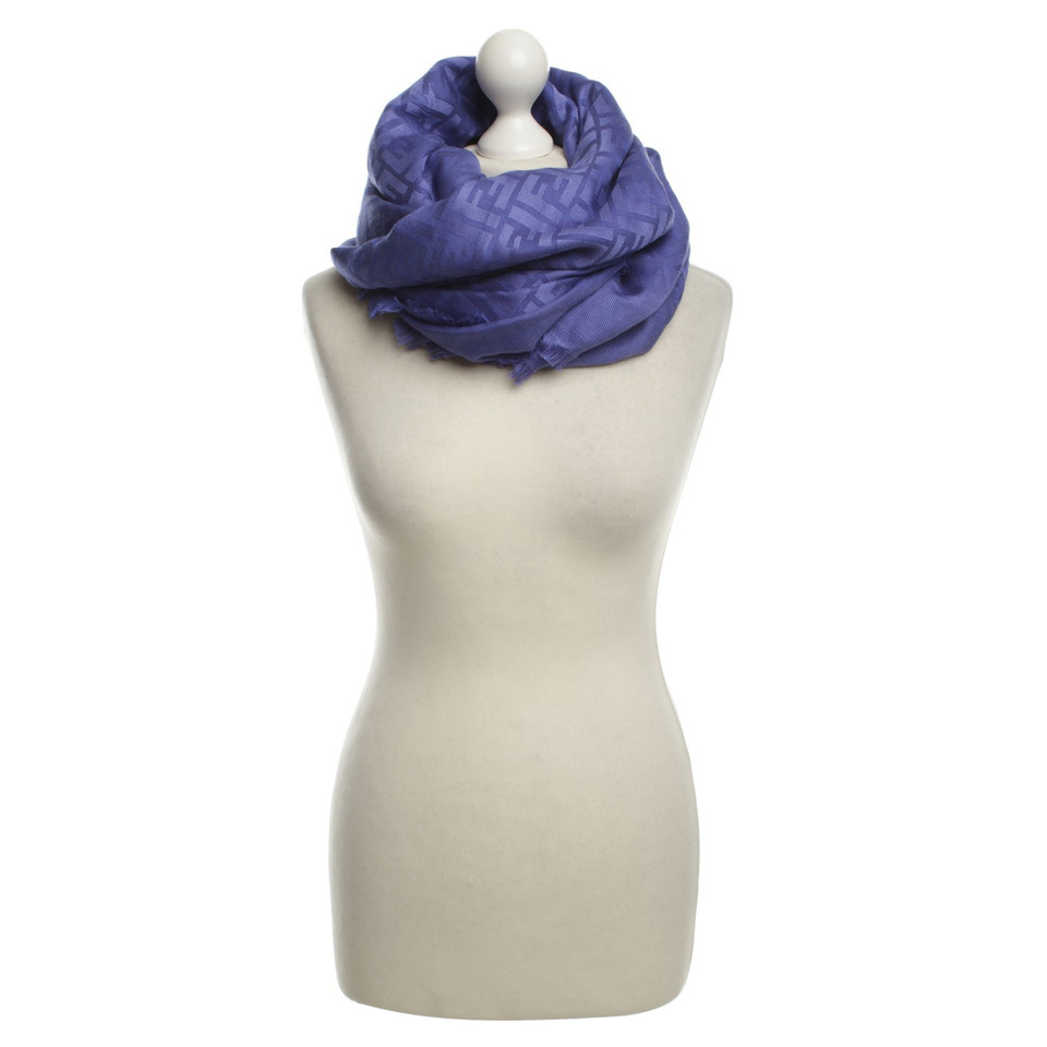 Fendi Tuch in Violett