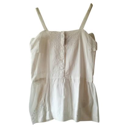 Semi Couture Straps top in white