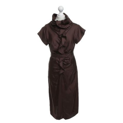 Hugo Boss Kleid in Braun
