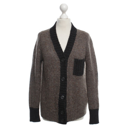 See by Chloé Cardigan in olive/black