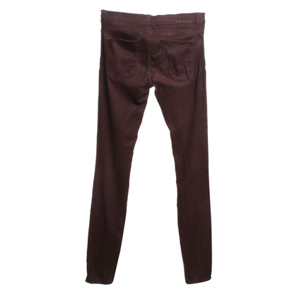 Current Elliott Pantaloni Bordeaux