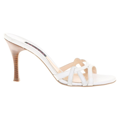 Escada Sandals in white