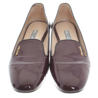 Prada Loafer in Bordeaux