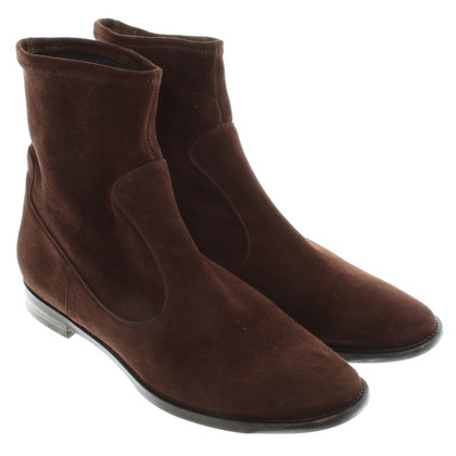 Unützer Suede ankle boots in brown