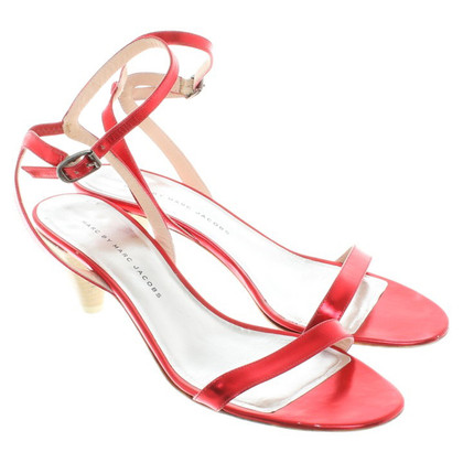Marc Jacobs Sandals in red