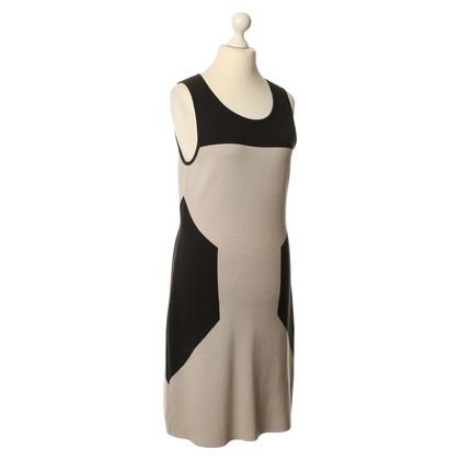 Hugo Boss Dress in beige/black