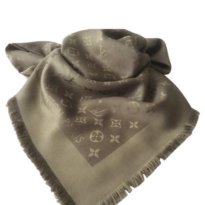 Louis Vuitton Monogram sjaal in kaki