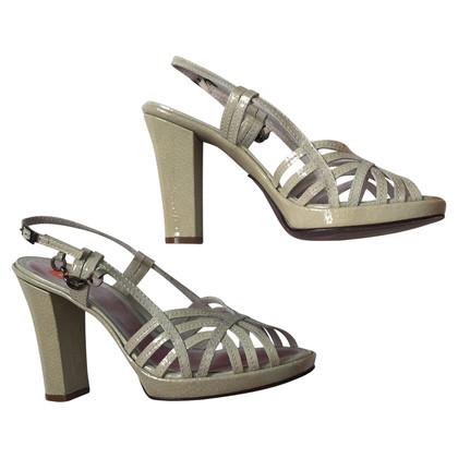 Hugo Boss Patent leather sandals