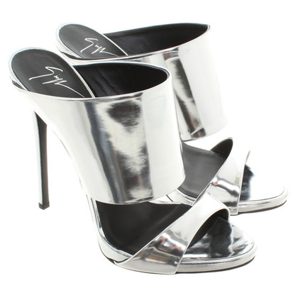 Giuseppe Zanotti Sandals in metallic look