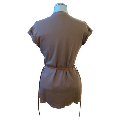 Brunello Cucinelli Vest in taupe