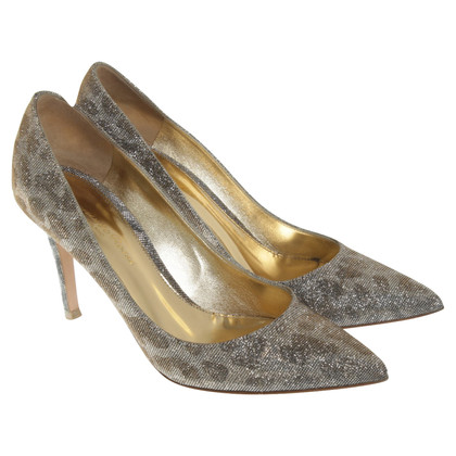 Gianvito Rossi pumps with glitter effect