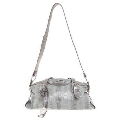 Dolce & Gabbana Handtasche aus Pythonleder