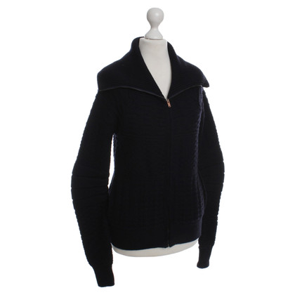MM6 by Maison Margiela Cardigan in dark blue