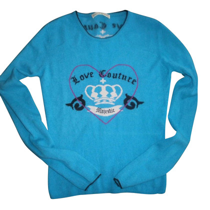 FTC Cashmere sweaters in turquoise