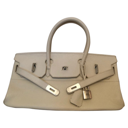 "Hermès ""Shoulder Birkin 40 Clémence Leather"""