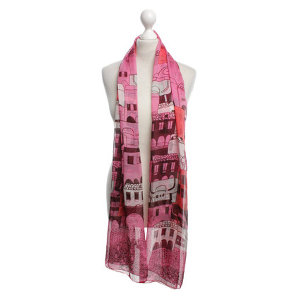 Furla Scarf with pattern